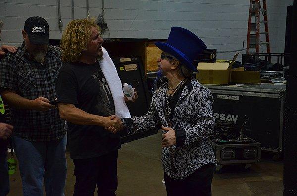 2011-11-15 Liquid Blue Band in Las Vegas NV with Sammy Hagar 002
