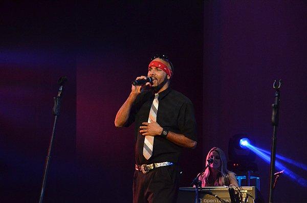 2012-01-15 Liquid Blue Band in Pasadena CA at Sexton Auditorium 085