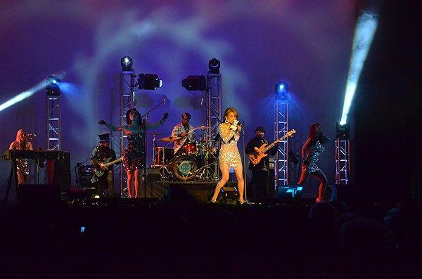 2012-01-15 Liquid Blue Band in Pasadena CA at Sexton Auditorium 145