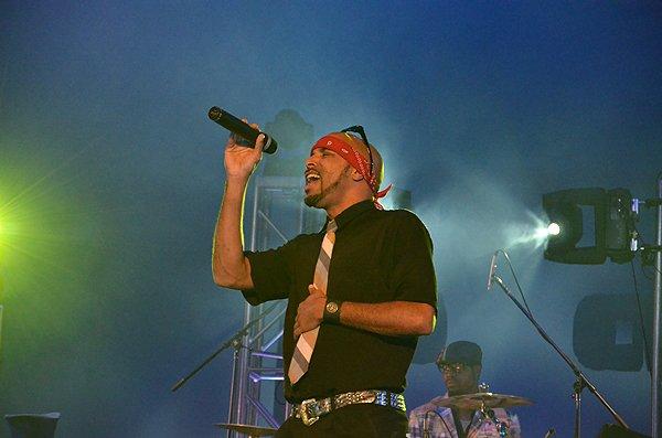 2012-01-15 Liquid Blue Band in Pasadena CA at Sexton Auditorium 200