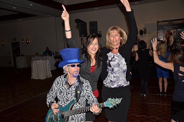 2012-02-02 Liquid Blue Band in La Quinta CA at La Quinta Resort 050