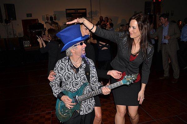 2012-02-02 Liquid Blue Band in La Quinta CA at La Quinta Resort 051