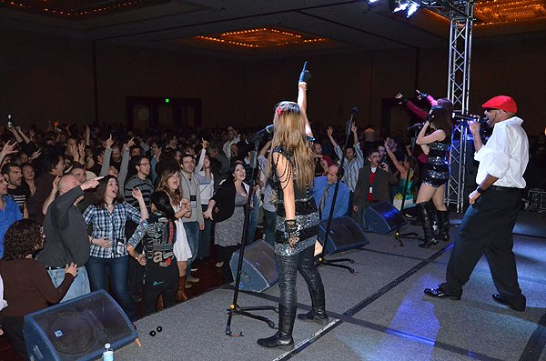 2012-02-27 Liquid Blue Band in San Diego CA at Marriott Marquis 150
