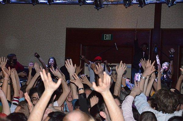 2012-02-27 Liquid Blue Band in San Diego CA at Marriott Marquis 156