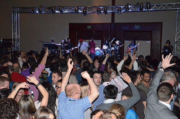 2012-02-27 Liquid Blue Band in San Diego CA at Marriott Marquis 158