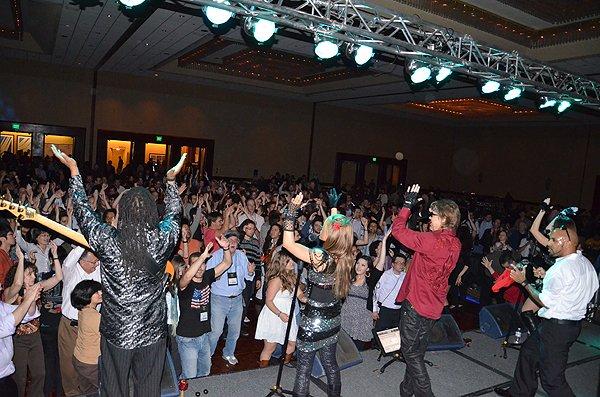 2012-02-27 Liquid Blue Band in San Diego CA at Marriott Marquis 196