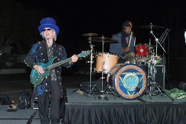 2012-02-29 Liquid Blue Band in La Quinta CA at La Quinta Resort 001