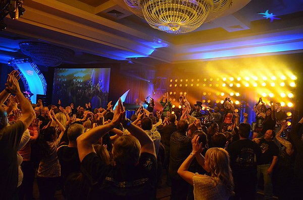 2012-04-13 Liquid Blue Band in San Diego CA at Hyatt Hotel 513