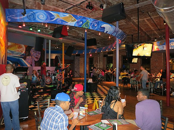 2012-05-12 Liquid Blue Band in Charlotte NC at Wet Willies 201