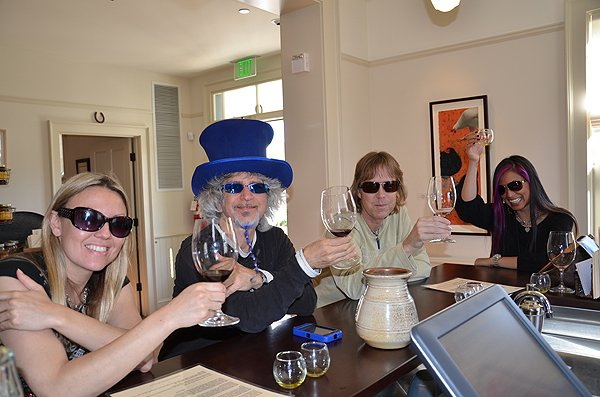 2012-06-08 Liquid Blue Band in St Helena CA 003