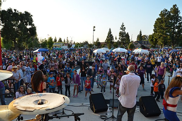 2012-07-03 Liquid Blue Band in Norwalk CA at Norwalk City Hall Lawn 006