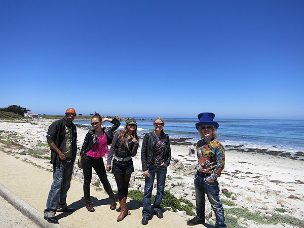 2012-07-19 Liquid Blue Band in Pebble Beach CA 002