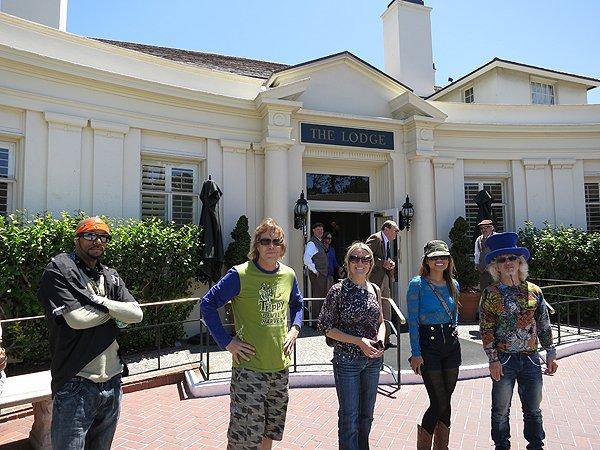 2012-07-19 Liquid Blue Band in Pebble Beach CA 020