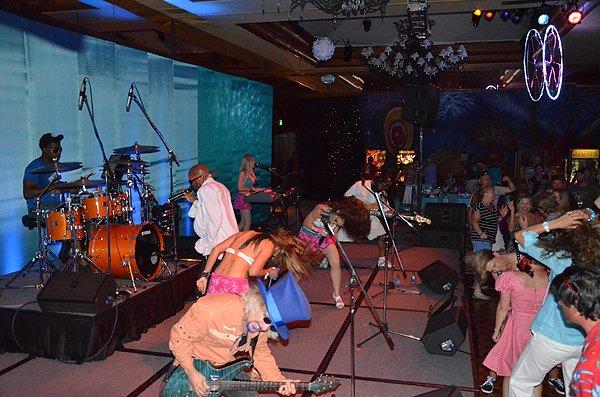 2012-07-19 Liquid Blue Band in Pebble Beach CA at Inn at Spanish Bay 000