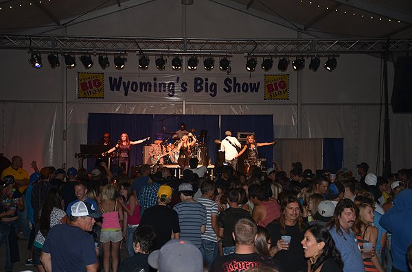 2012-08-03 Liquid Blue Band in Rock Springs WY at Sweetwater Event Comlpex 168