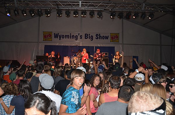 2012-08-03 Liquid Blue Band in Rock Springs WY at Sweetwater Event Comlpex 182