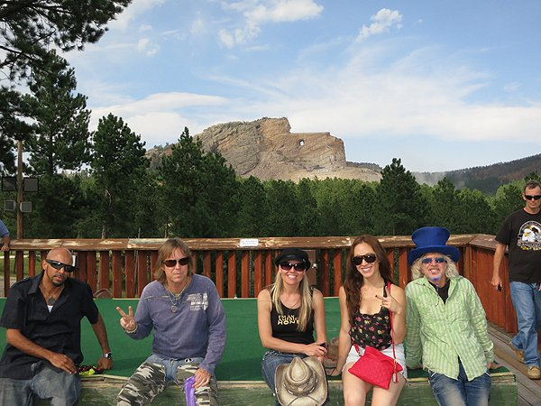 2012-08-06 Liquid Blue Band at Crazy Horse Memorial SD 002
