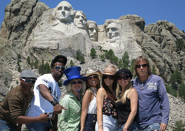 2012-08-06 Liquid Blue Band at Mount Rushmore SD