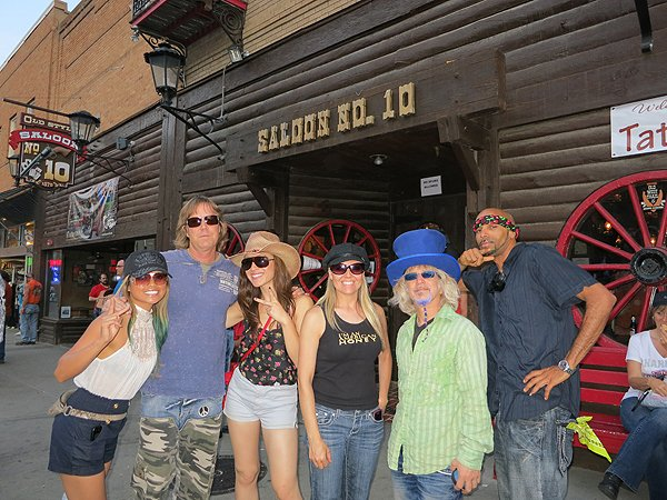 2012-08-06 Liquid Blue Band in Deadwood SD 009