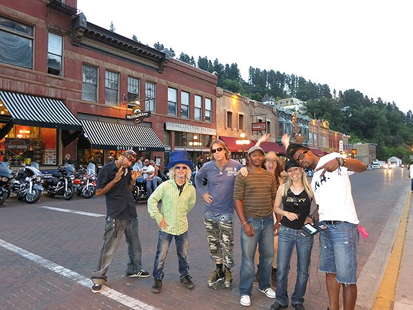 2012-08-06 Liquid Blue Band in Deadwood SD 014