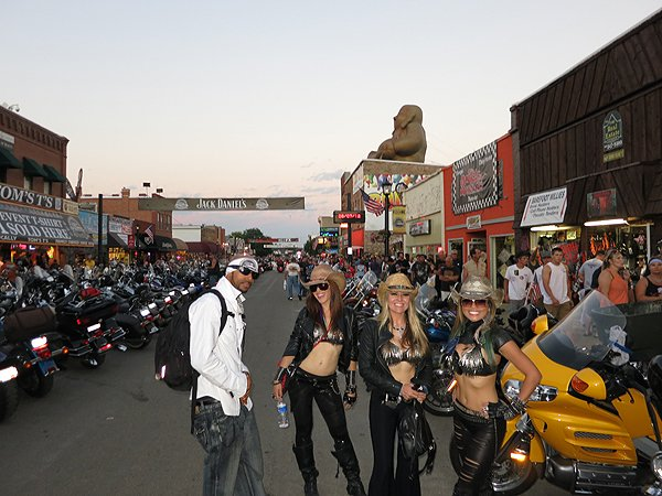 2012-08-07 Liquid Blue Band in Sturgis SD 001