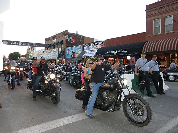 2012-08-08 Liquid Blue Band in Sturgis SD 008