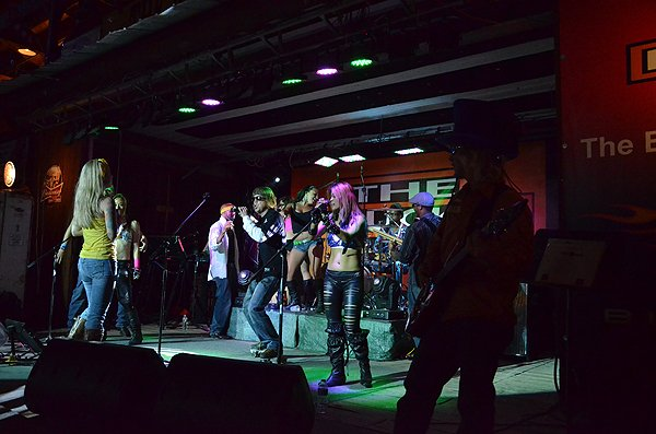 2012-08-08 Liquid Blue Band in Sturgis SD at The Knuckle Saloon 037