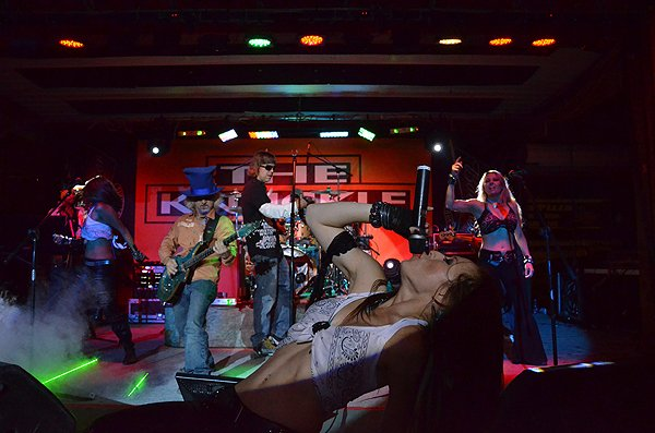 2012-08-08 Liquid Blue Band in Sturgis SD at The Knuckle Saloon 071