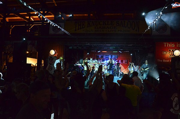 2012-08-08 Liquid Blue Band in Sturgis SD at The Knuckle Saloon 180