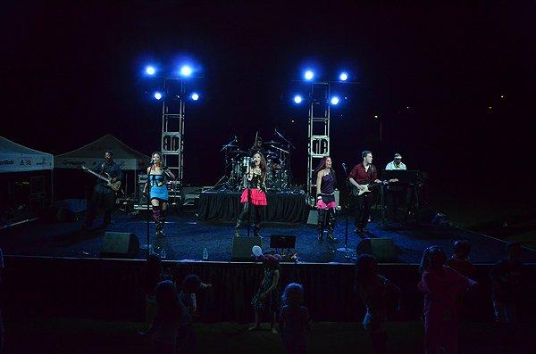2012-08-24 Liquid Blue Band in Carlsbad CA at Kingdom at Taylor Made 055