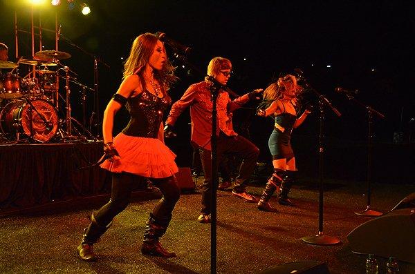 2012-08-24 Liquid Blue Band in Carlsbad CA at Kingdom at Taylor Made 079
