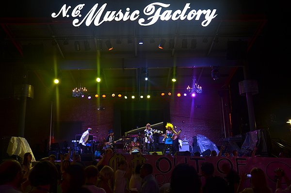 2012-09-01 Liquid Blue Band in Charlotte NC at NC Music Factory 13