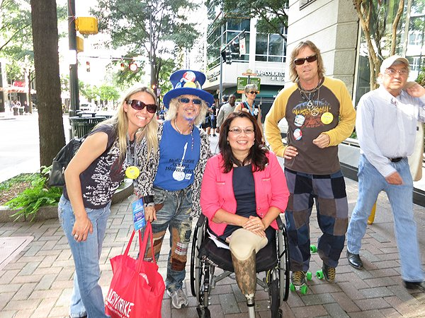 2012-09-05 Liquid Blue Band in Charlotte NC with Tammy Duckworth