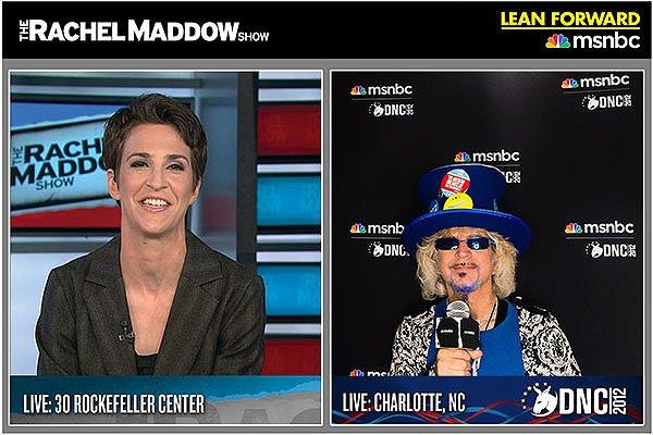 2012-09-05 MSNBC Experience Photo