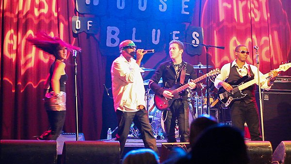 2012-10-12 Liquid Blue Band in Anaheim CA at House Of Blues 012
