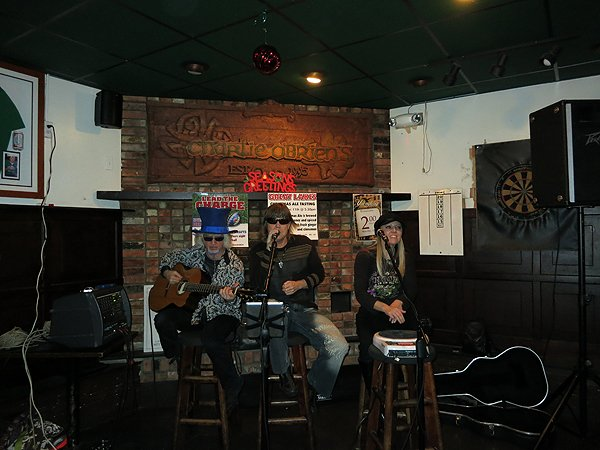 2012-12-11 Acoustic Blue Band in Buffalo NY at Charlie O'Brien's 2