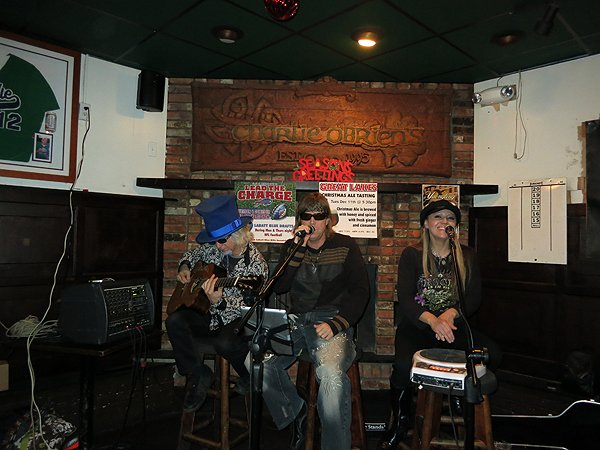 2012-12-11 Acoustic Blue Band in Buffalo NY at Charlie O'Brien's 9