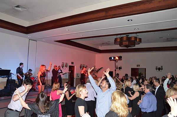 2013-02-07 Liquid Blue Band in La Quinta CA at La Quinta Resort 081