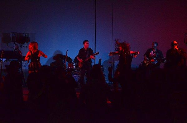 2013-02-07 Liquid Blue Band in La Quinta CA at La Quinta Resort 088