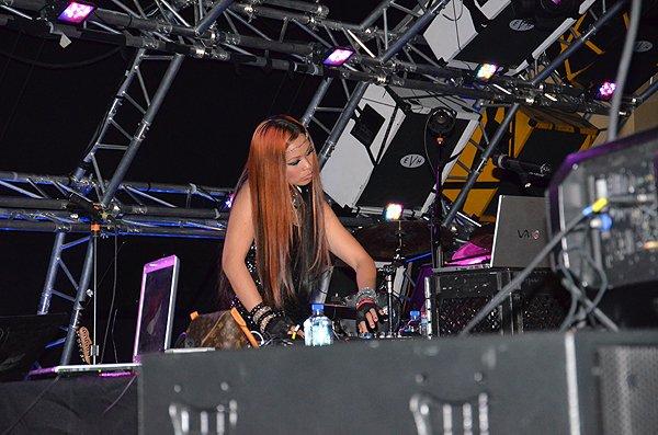 2013-03-11 DJ Layla Loxa in Las Vegas NV at The Hard Rock Cafe 004