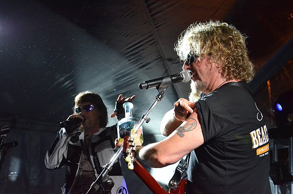2013-04-20 Liquid Blue Band and Sammy Hagar in La Jolla CA at The Bishop's School 094