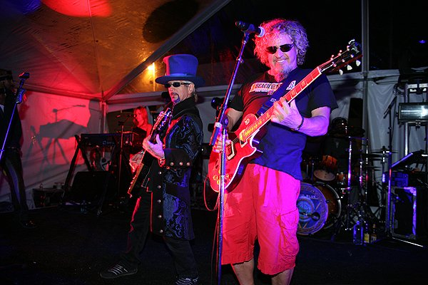 2013-04-20 Liquid Blue Band and Sammy Hagar in La Jolla CA at The Bishop's School 244