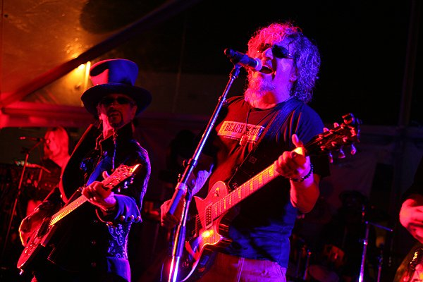 2013-04-20 Liquid Blue Band and Sammy Hagar in La Jolla CA at The Bishop's School 247