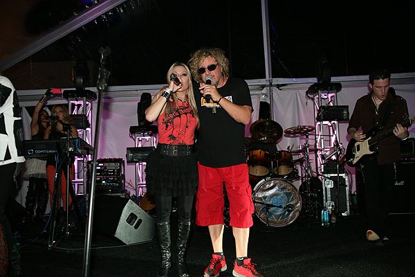 2013-04-20 Liquid Blue Band and Sammy Hagar in La Jolla CA at The Bishop's School 305