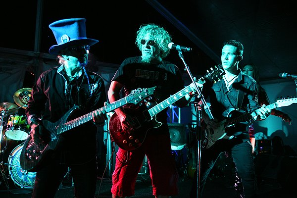 2013-04-20 Liquid Blue Band and Sammy Hagar in La Jolla CA at The Bishop's School 438