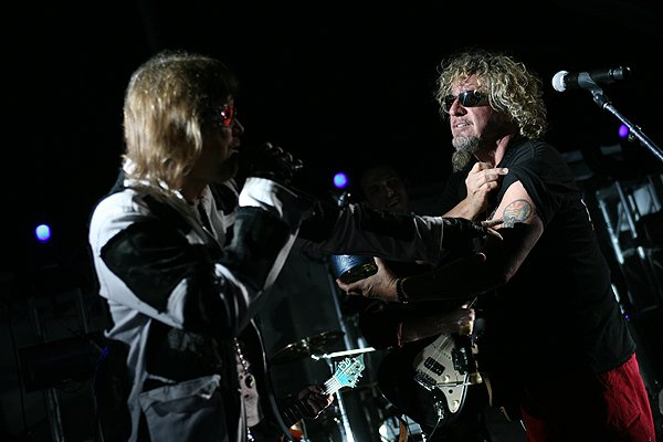 2013-04-20 Liquid Blue Band and Sammy Hagar in La Jolla CA at The Bishop's School 464