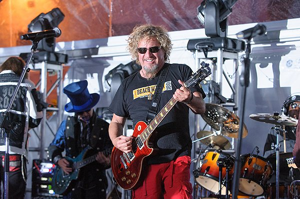 2013-04-20 Liquid Blue Band and Sammy Hagar in La Jolla CA at The Bishop's School 566