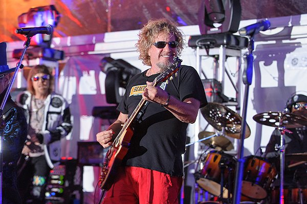 2013-04-20 Liquid Blue Band and Sammy Hagar in La Jolla CA at The Bishop's School 567