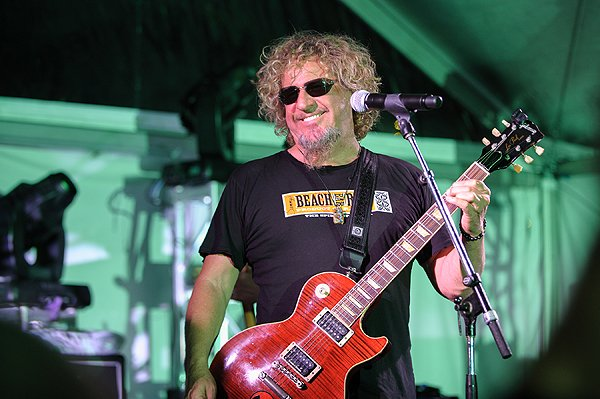 2013-04-20 Liquid Blue Band and Sammy Hagar in La Jolla CA at The Bishop's School 574