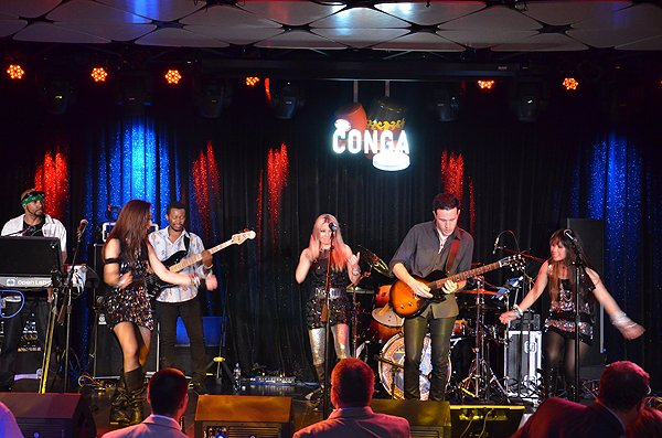 2013-04-23 Liquid Blue Band in Los Angeles CA at Conga Room 102